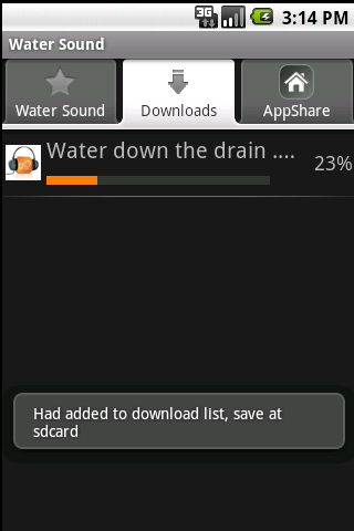 Water Sound Android Tools