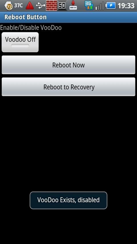 Voodoo Toggle Reboot Button Android Tools
