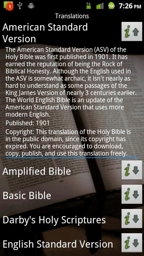 Grace Mobile Bible Studio App Android Books & Reference
