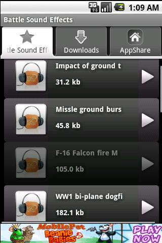 Battle Sound Android Comics