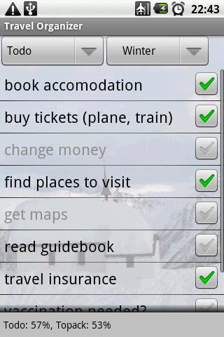 Travel Organizer Android Travel & Local