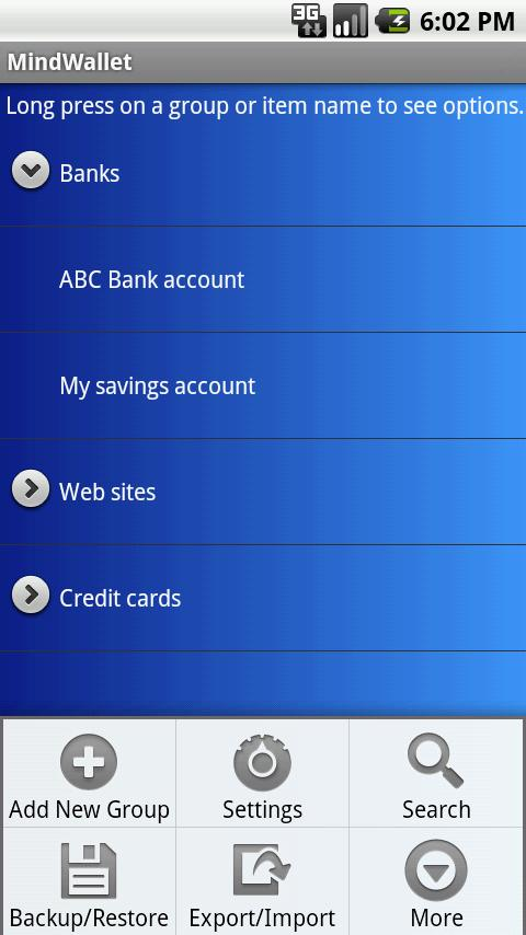 MindWallet – Password Manager Android Productivity