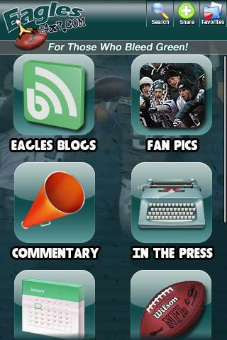 Philadelphia Eagles Fan Zone Android Sports