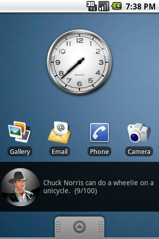 Chuck Norris Facts Widget Free Android Entertainment