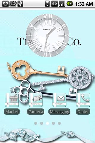 Tiffany and Co. Theme Android Personalization