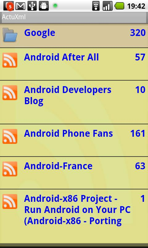 ActuXml Android News & Magazines