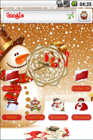 Let It Snow Android Personalization