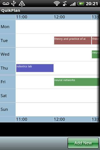 QuikPlan Timetable organizer Android Lifestyle