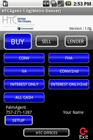 HTCAgent Android Finance