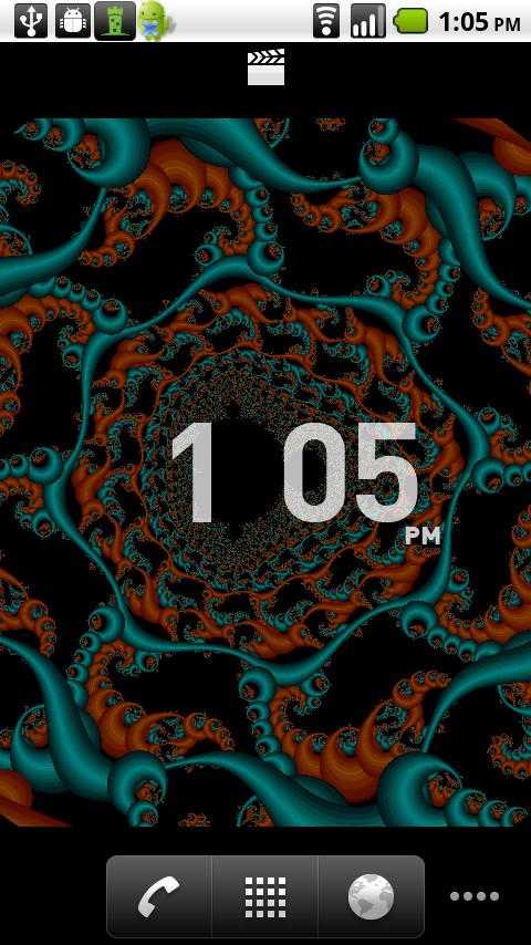 Live Wallpaper Fractal Free Android Personalization