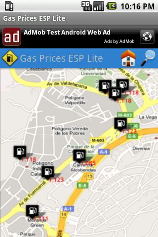 Gas Prices ESP Lite Android Travel & Local