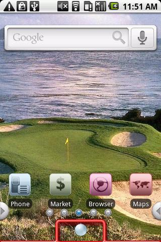 Golf Android Personalization