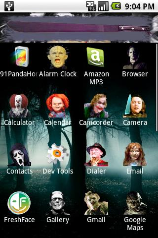 Movie Villain theme Android Personalization