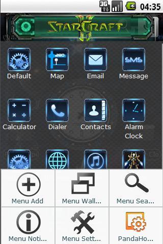Starcraft 2 Zerg Theme Android Personalization