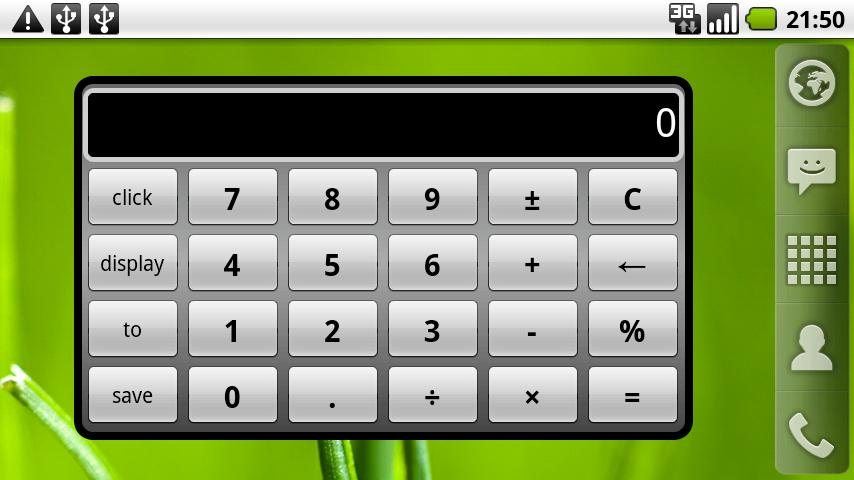 Calculator Widget Android Tools