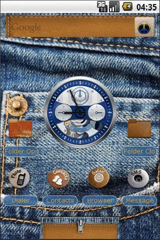 4Ever in Blue Jeans Android Personalization