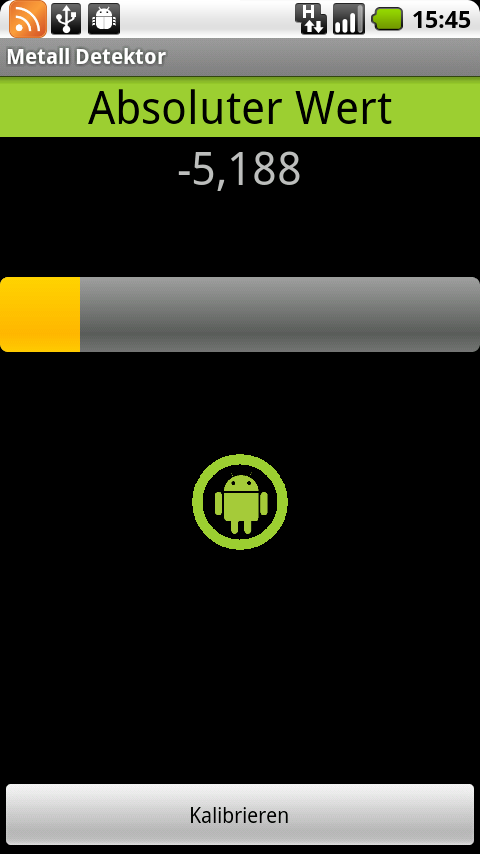 Metal Detector – DONATE Android Tools