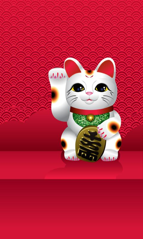 LiveWallPaper Lucky Cat Android Entertainment