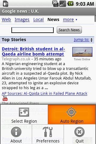 Google News (regional) Android News & Magazines