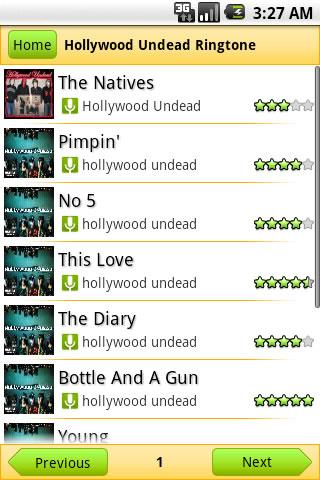 Hollywood Undead Ringtone Android Entertainment
