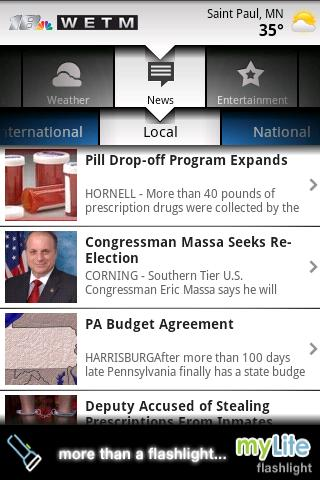 WETM TV Mobile Local News Android News & Magazines