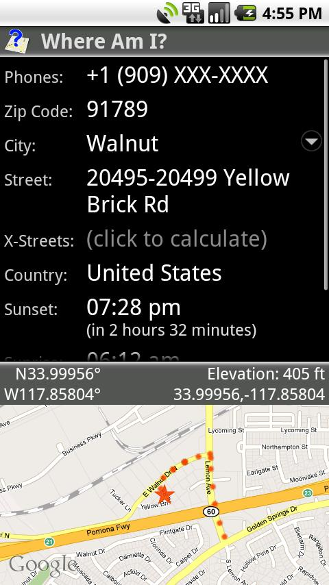 GPS: Where Am I? Android Tools