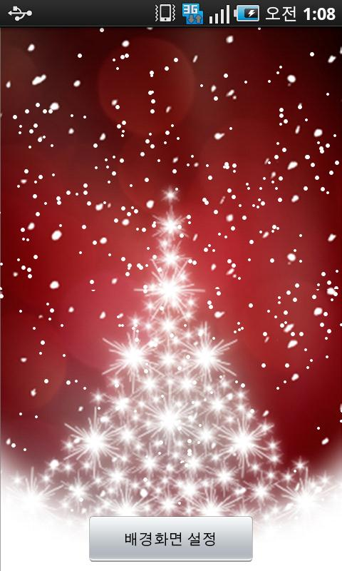 LiveWallPaper Xmas1 Android Entertainment