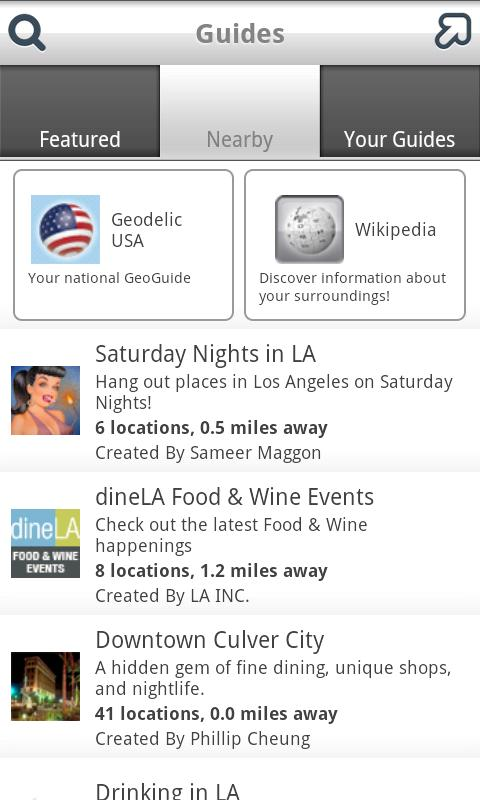 Geodelic Android Lifestyle