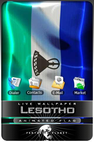 LESOTHO LIVE FLAG Android Entertainment