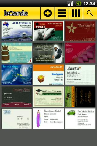 bCards Android Business