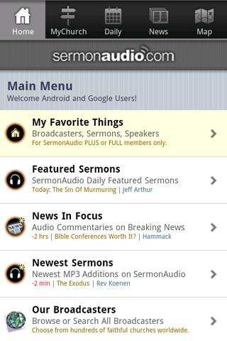 SermonAudio Android Edition Android Books & Reference