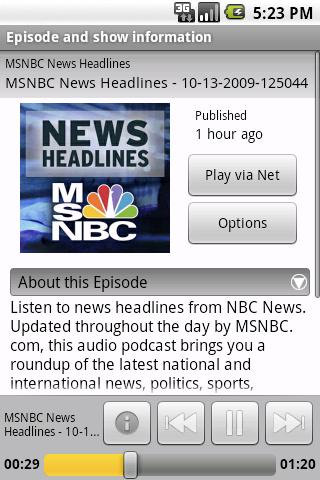 Mediafly Video+Audio Podcasts Android Media & Video