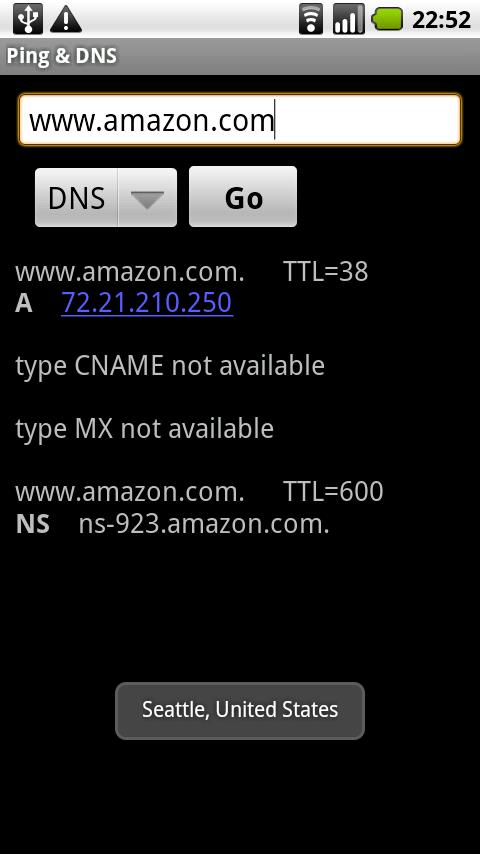 Ping & DNS Android Tools