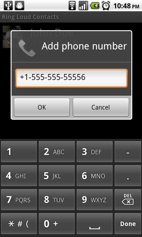 Ring Loud Contacts Android Tools
