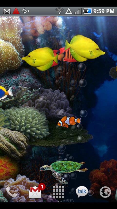 Aquarium Donation L. Wallpaper Android Personalization