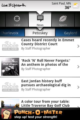 Petoskey News Android News & Weather