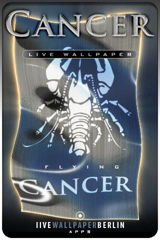 CANCER live wallpapers Android Lifestyle