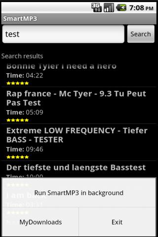 SmartMP3 Android Multimedia