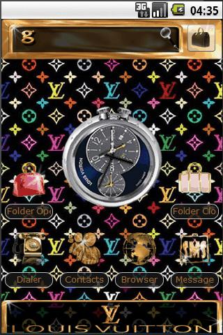 Louis Vuitton Android Personalization