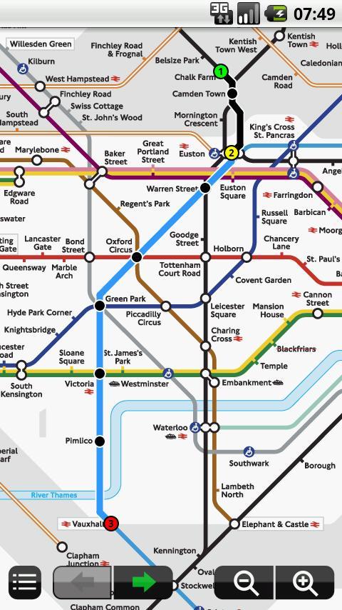 London Underground Android Travel