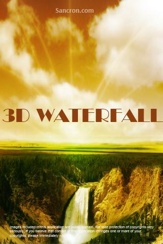 3D Waterfall Wallpapers Android Themes
