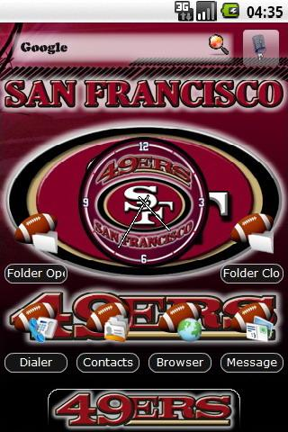 San francisco 49ers themes android personalization best android apps san francisco 49ers themes android personalization voltagebd