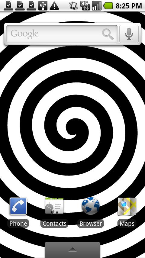 HypnoTwister Live Wallpaper Android Personalization