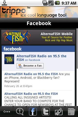 AlternaFISH Radio Android Entertainment