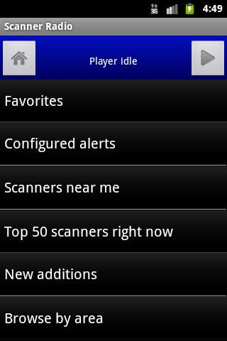 Scanner Radio Android Entertainment