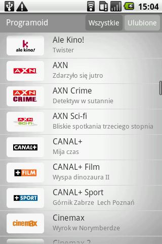 Programoid Beta Android Entertainment