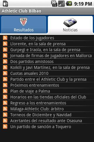 Athletic Club Bilbao Android Sports