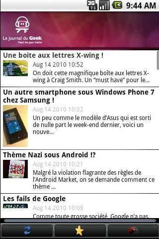 Journal du Geek (Unofficial) Android News & Weather