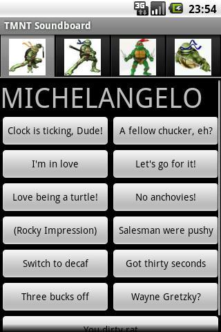 Mutant Ninja Turtle Soundboard Android Entertainment