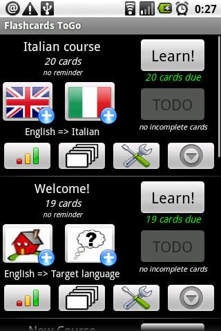Flashcards ToGo Android Education